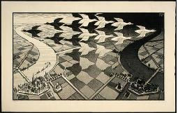 Maurits C. Escher,  Day and Night