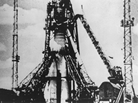 Soviet launch of Sputnik