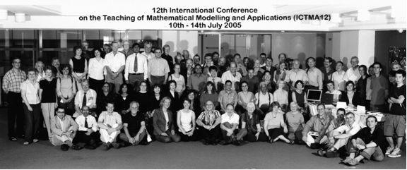Official photograph of attendees at ICTMA12, London