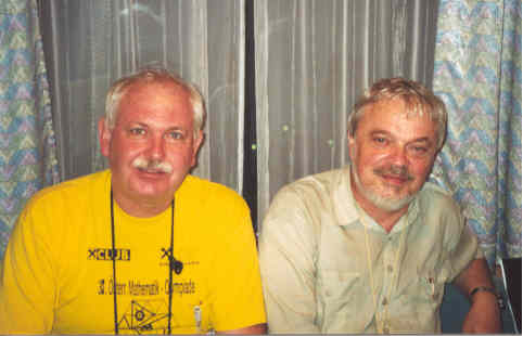 Peter Taylor (Australia) with Igor Sharygin (Russia).
